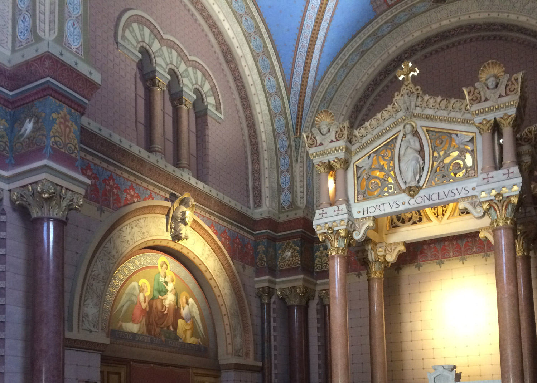 faire randonnée à lyon chapelle Visitation Fourvière