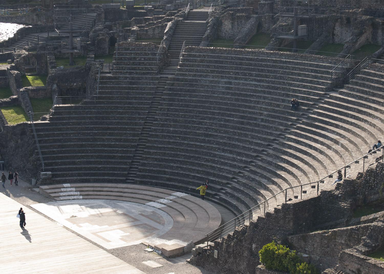 randonnée guide théâtre antique Lyon